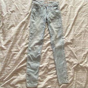 Garage Light Wash Super Soft Jegging Jeans